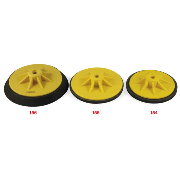 154-155-156 Nylon and rubber backing pad