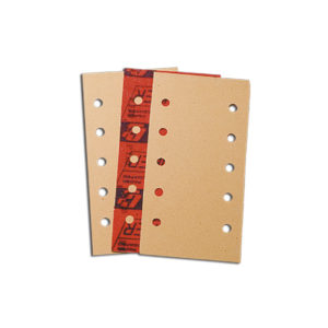 553 Abrasive sheets 115 x 228 mm