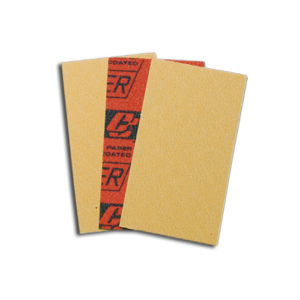 555 Abrasive sheets 80 x 155 mm